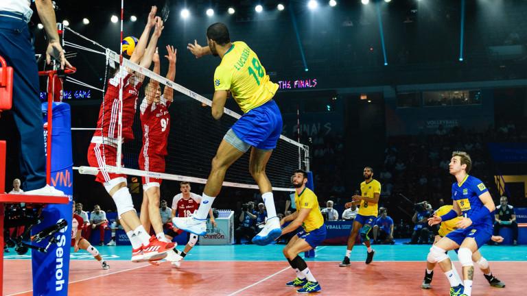 Полша надви Бразилия в първия мач от финалната шестица