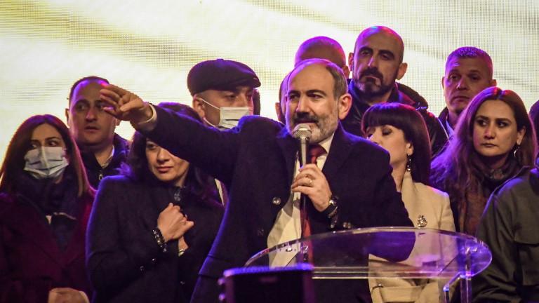 Премиерът на Армения обяви предсрочни избори на 20 юни