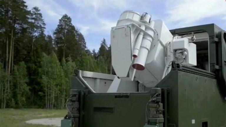 """Русия пусна видео на разгръщането на новия боен лазер """"Пересвет"""""""