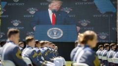 Тръмп: Американският войник защитава сраната си, не решава чужди конфликти