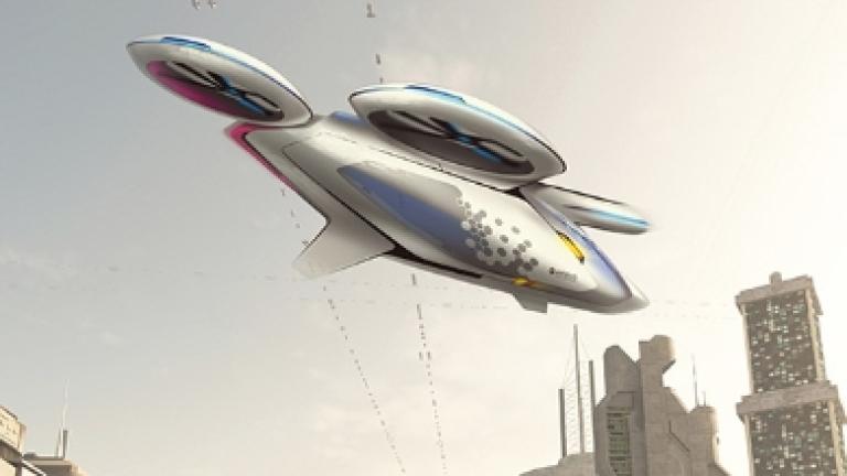 Airbus тества летяща безпилотна кола до края на годината