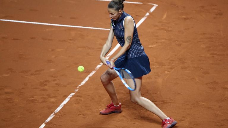 Каролина Плишкова спечели луд мач срещу Виктория Азаренка в Мадрид