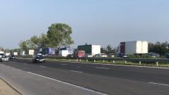 Ограничено е движението в посока Ботевград