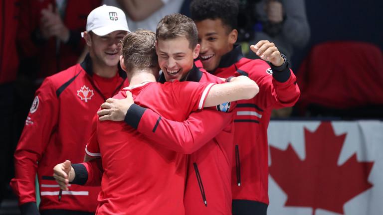 """Канада е първият четвъртфиналист за """"Купа Дейвис"""""""