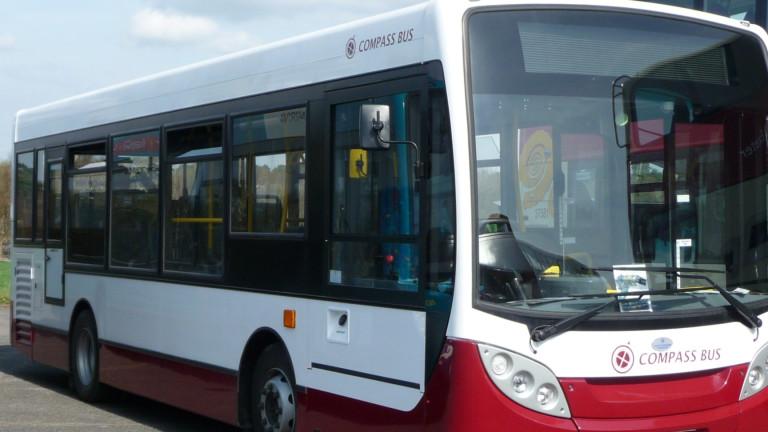 Возят евроделегатите с автобуси в София