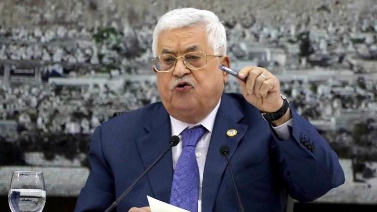 Палестинският президент Махмуд Абас отхвърли плана за мир за Близкия