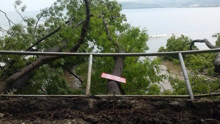 Сериозни щети след пороите и градушките в Източна България