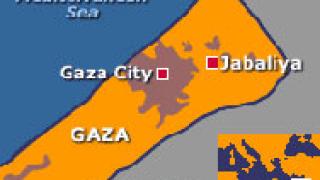 Журналисти в Газа на протест в подкрепа на отвлечен колега