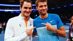 Роджър Федерер: Григор просто изглежда добре (ВИДЕО)