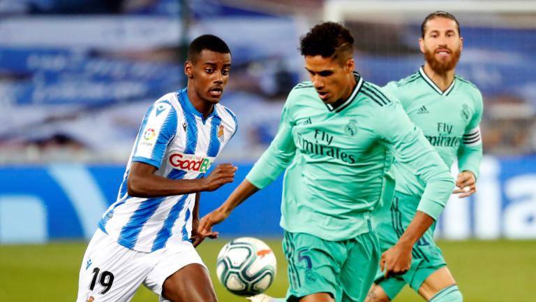Реал (Мадрид) продължава да чака решението на Рафаел Варан
