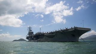 САЩ разположиха самолетоносач в Южнокитайско море за сдържане на Китай