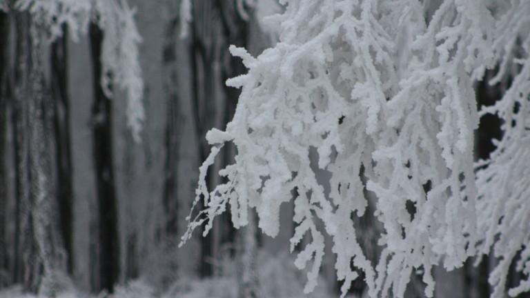 До половин метър сняг в някои планини в Гърция