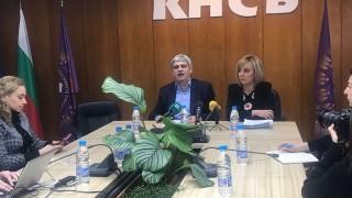 Мая Манолова и синдикатите искат отмяна на текст от Кодекса на труда