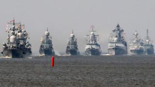 Русия провежда учение с 25 кораба и 30 самолета в Средиземно море