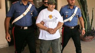 Арестуваха един от най-издирваните италиански мафиоти