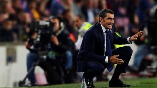 Ернесто Валверде: По никое време не съм обмислял да си тръгна от Барселона