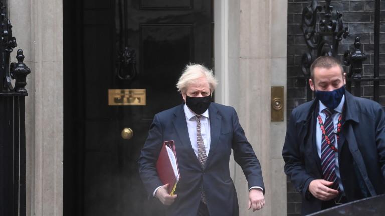 Говорителят на британския премиер Борис Джонсън заяви във вторник, че