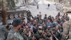 Асад се появи на фронта в Източна Гута