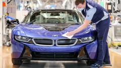 BMW e продала повече автомобили през първото тримесечие, отколкото за същия период преди кризата