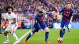 Само два изстрела в целта за Барса в битката с Реал