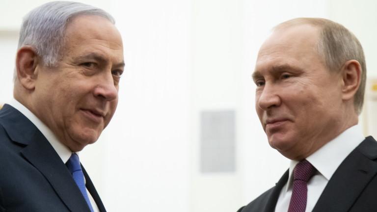 """""""Сладко-горчивият"""" подарък на Путин за Нетаняху"""