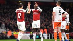 """Арсенал се затрудни с Блекпул, но е четвъртфиналист за """"Карабоа Къп"""""""