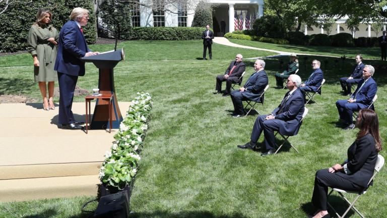 Тръмп не се притеснява от големия държавен дълг на САЩ