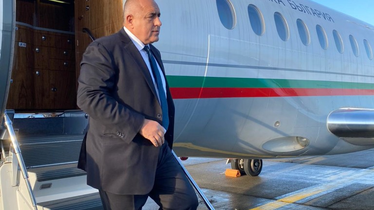 Министър-председателят Бойко Борисов пристигна в Брюксел за среща на върха,