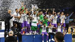 Футболист на Реал отпразнува титлата по доста оригинален начин