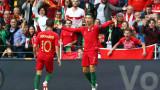 Португалия - Швейцария 3:1 (Развой на срещата по минути)