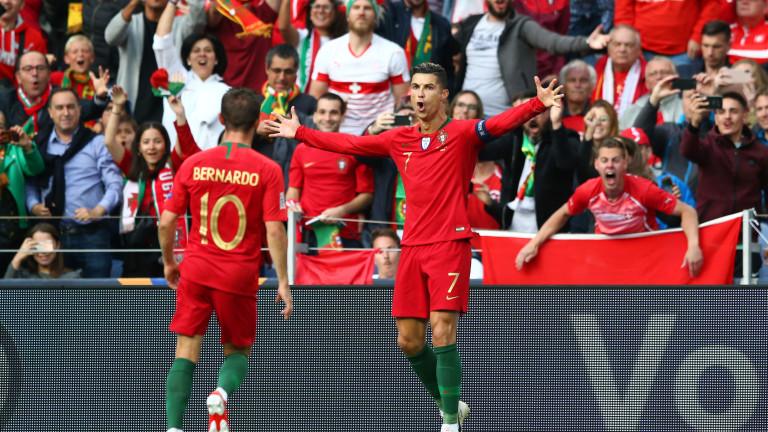 Португалия 1 : 1 Швейцария 56′ ГООЛ ЗА ШВЕЙЦАРИЯ!! 1:1!!