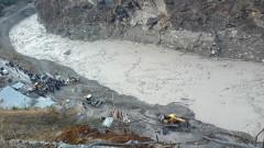 14 загинали и най-малко 170 изчезнали след свличането на ледника в Индия