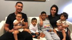 Най-тъжният рожден ден на децата на Роналдо