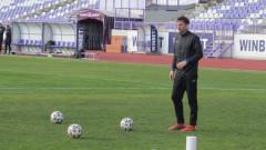 """Димитър Бербатов води първа тренировка на """"Ивайло"""""""