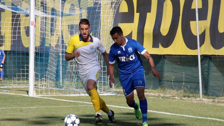 Крилото Илиян Йорданов започна тренировки с Локомотив (Пд). 31-годишният футболист