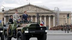 """За първи път от 1980 г. Франция отбеляза Деня на Бастилията без парад на """"Шанз Елизе"""""""