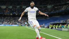 Бензема изпревари легенда на Реал (Мадрид) по голове в Шампионската лига