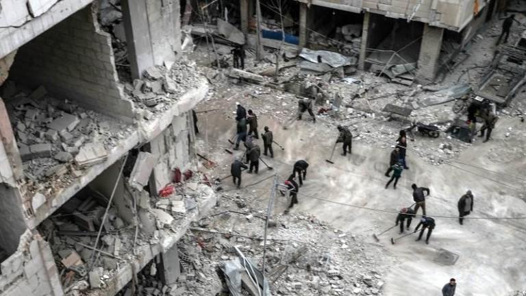12 загинали при въздушни удари над Сирия