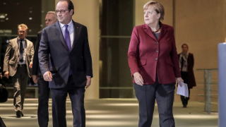 Меркел и Оланд към Путин: Бомбардировките срещу Алепо са безчовечни