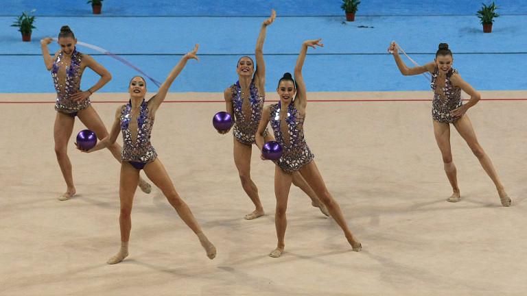 Българският ансамбъл по художествена гимнастика ще участва в Минск