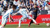 Валенсия изпусна спечелен мач, взе само точка срещу Леганес