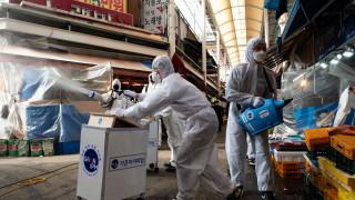 Първи заразен с коронавирус военнослужещи на САЩ - в Южна Корея