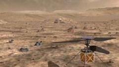 НАСА пуска хеликоптер на Марс