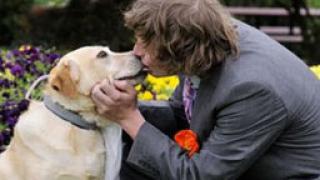 Австралиец се ожени за кучето си
