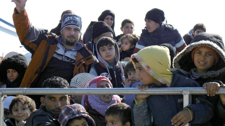 Гърция регистрира рязко увеличение на мигрантите от Турция