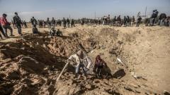 100 ракети изстреляни към Израел от Ивицата Газа за около час