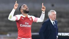 """Пестелив Арсенал взе своето от Наполи и на """"Сан Паоло"""""""