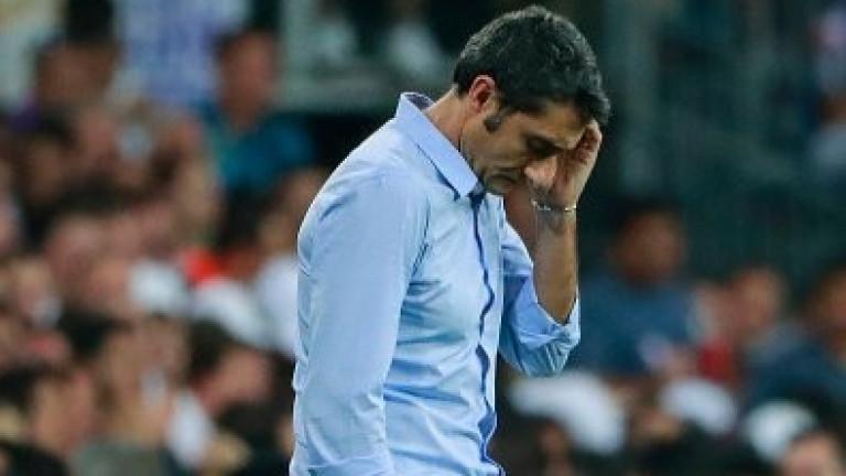 Треньорът на Барселона Ернесто Валверде даде мнението си за поражението