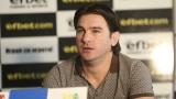 Велизар Димитров: Няма дузпа, в която да съм влагал актьорско майсторство