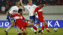 Турция с рутинно 2:0 в мача си с Финландия